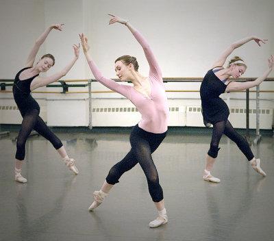 9419c6b6ed O uniforme   Dos passos da bailarina